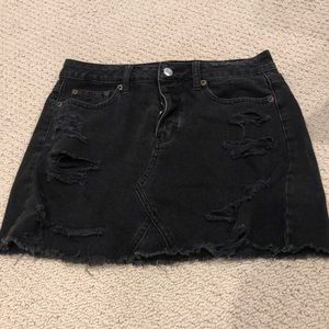American Eagle Distressed Skirt